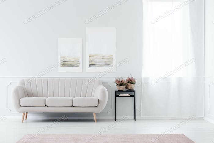 Beige Sofa Near Window Photo By Bialasiewicz On Envato Elements
