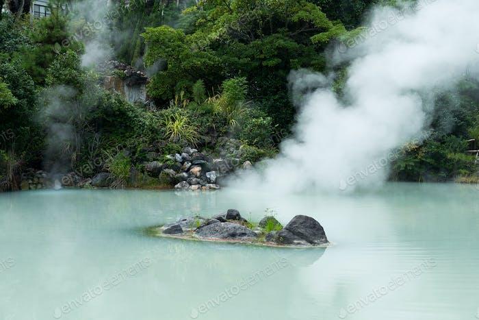 Hot springs in Beppu