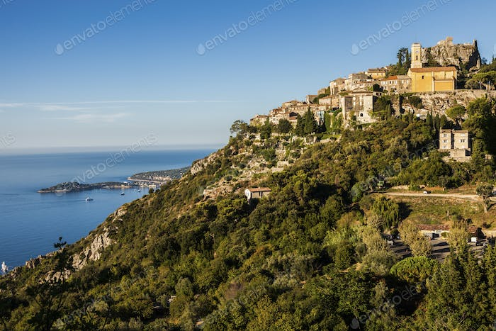 Eze panorama in the morning