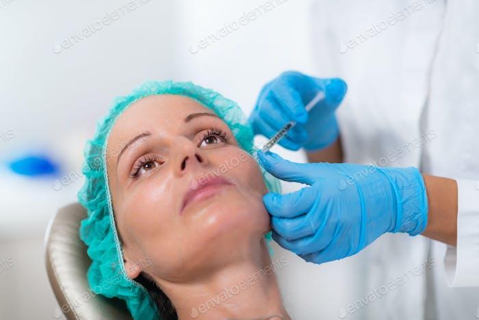 Anti-aging PRP Aesthetic Medicine Treatment