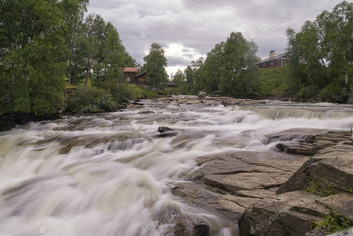 Rapids in the Ljusnan