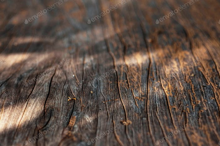 The surface of old wood
