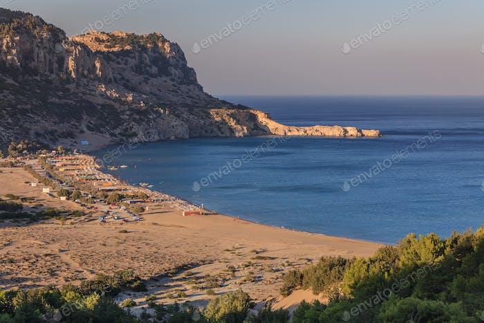 Tsambika beach, Greece