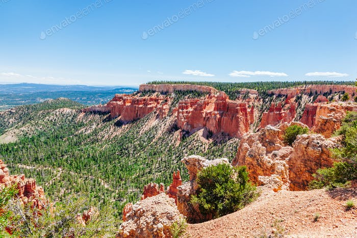 Bryce Canyon landscape, Utah, USA