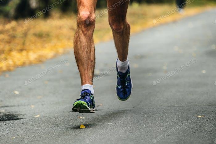haarige Beine männlich Läufer