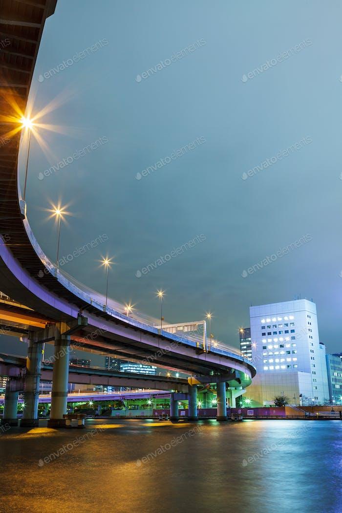Transportation system in tokyo