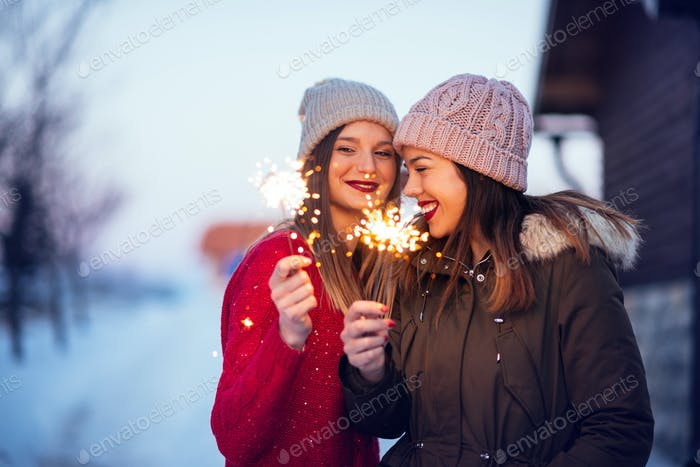 Friendship adds the spark to life