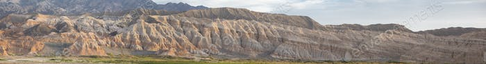 Rodeo and geological rock formations, Argentina