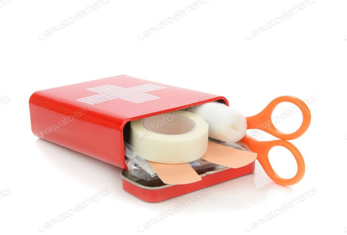 A Travel First Aid Kit