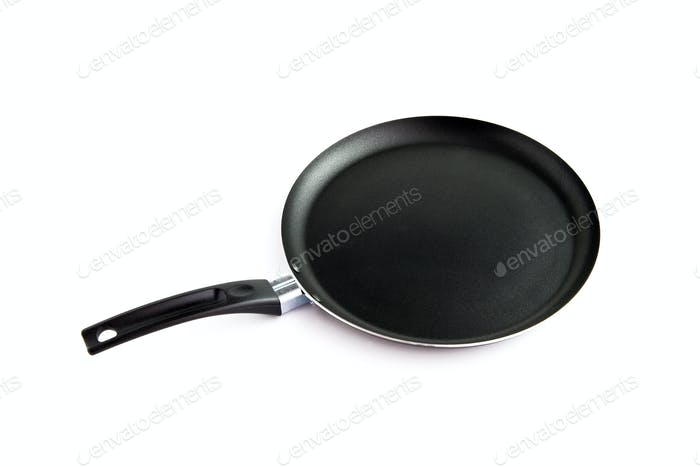 Clean frying pan