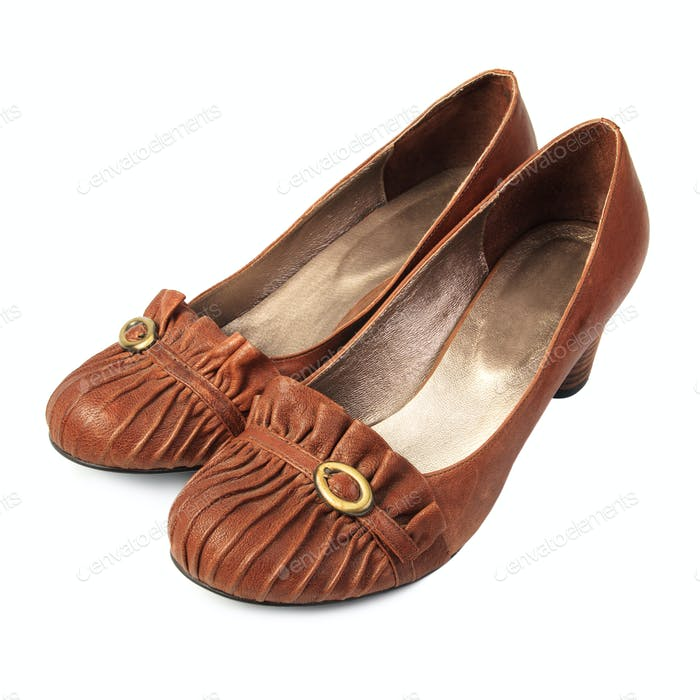 Brown women's shoes