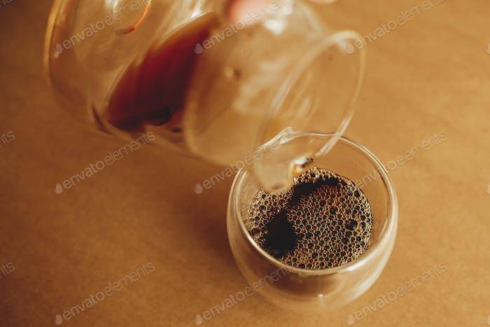 Brewing alternative coffee