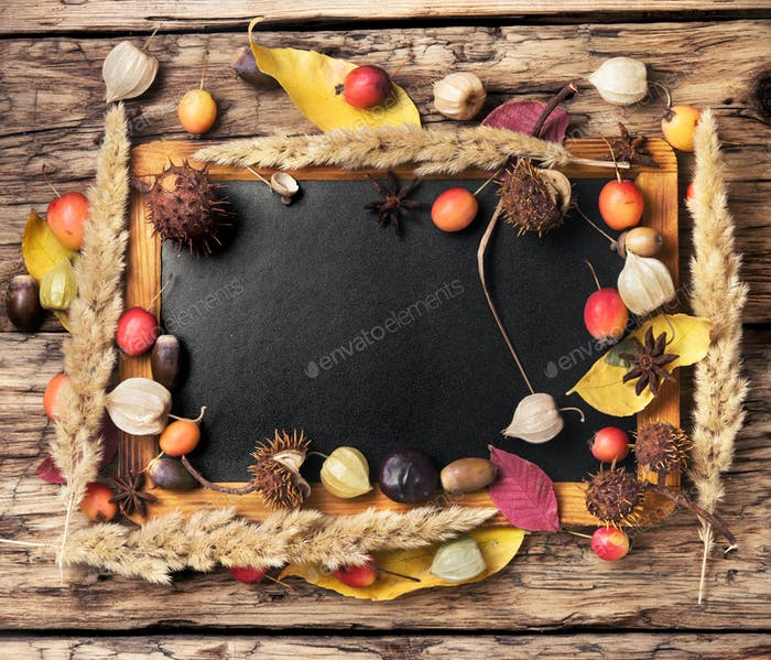 symbolic autumn background