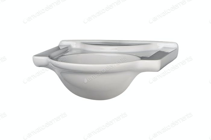 Washbasin isolated on white background
