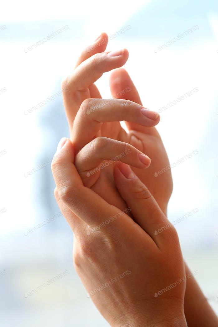 Hermosas manos.