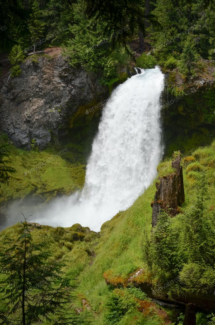 Sahalie Waterfall Oregon