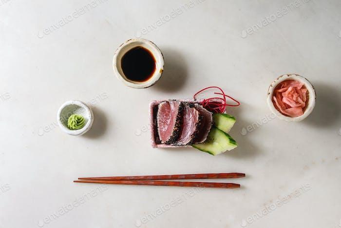 Tuna Sushi sashimi