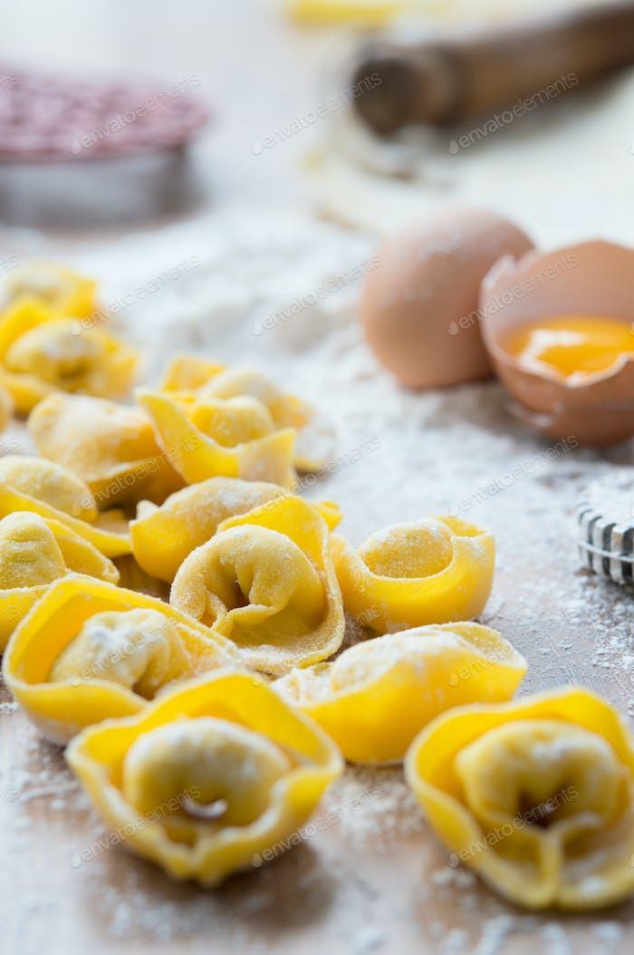 Tortellini italian food