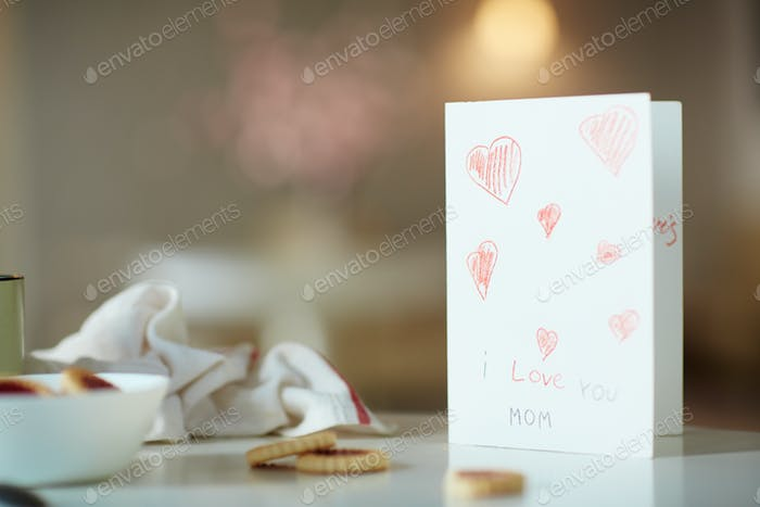 Card with greetings