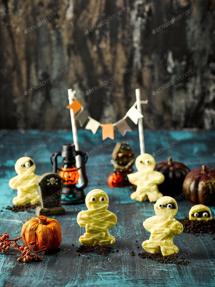 Halloween Mumie Cookie