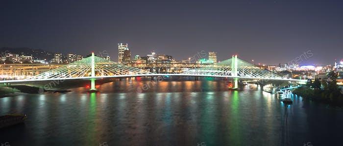 Tilikum Crossing Portland Oregon Neubau Brücke Willamette River