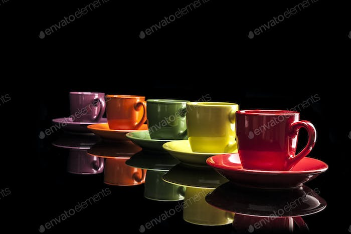 Little Colorful Cups