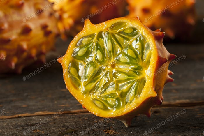 Organic Orange Kiwano Melon