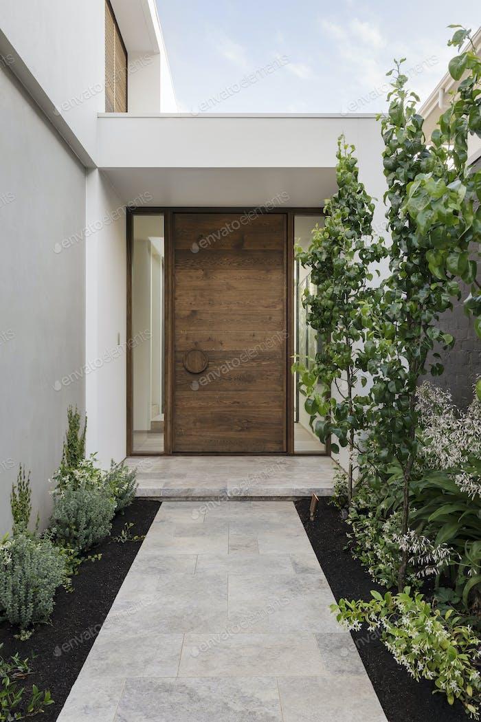 Architekturhaus Außentür