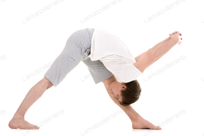 Yoga Intense Side Stretch Pose