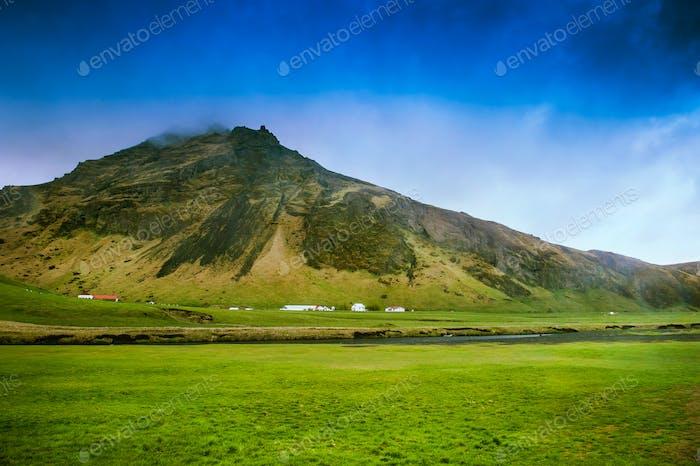 Islandia paisaje de viaje foto