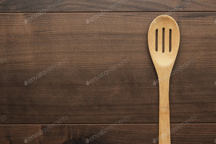 Wooden Skimmer On The Table