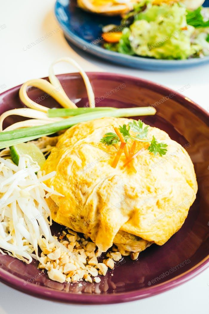 Eierpackung Pad Thai-Nudel