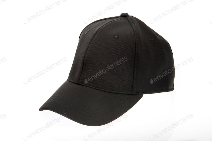 Men's black cap