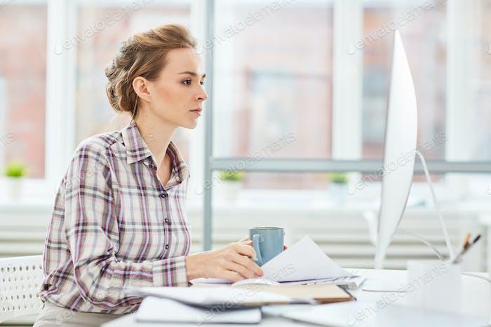 Female designer