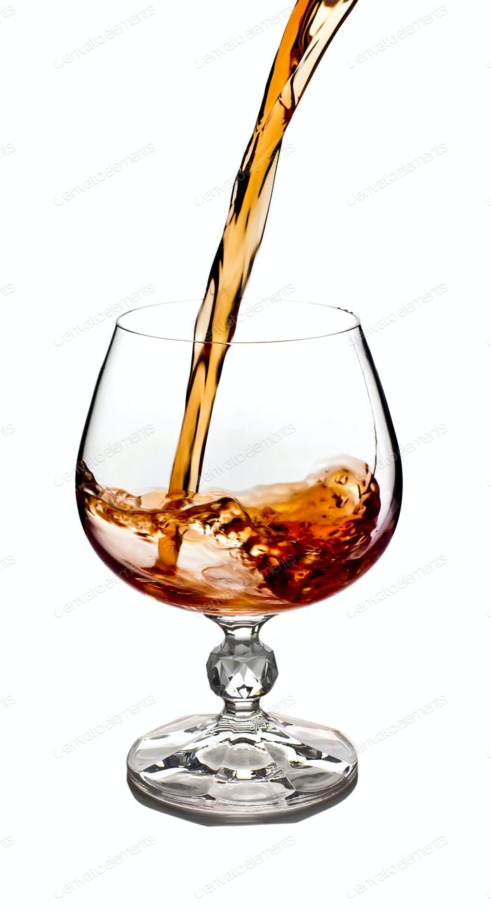 Cognac glass.