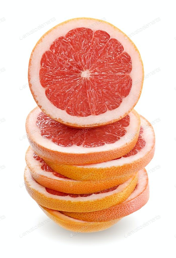 Grapefruit stack
