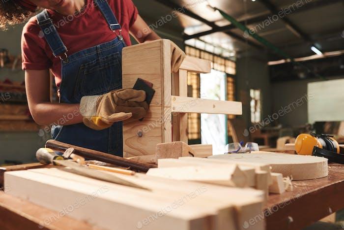 Proceso de carpintería