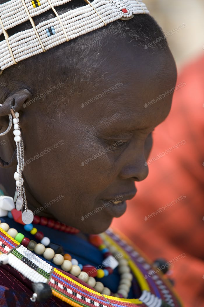 Portrait of masai