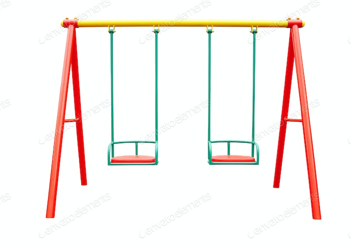 swing isolated on white