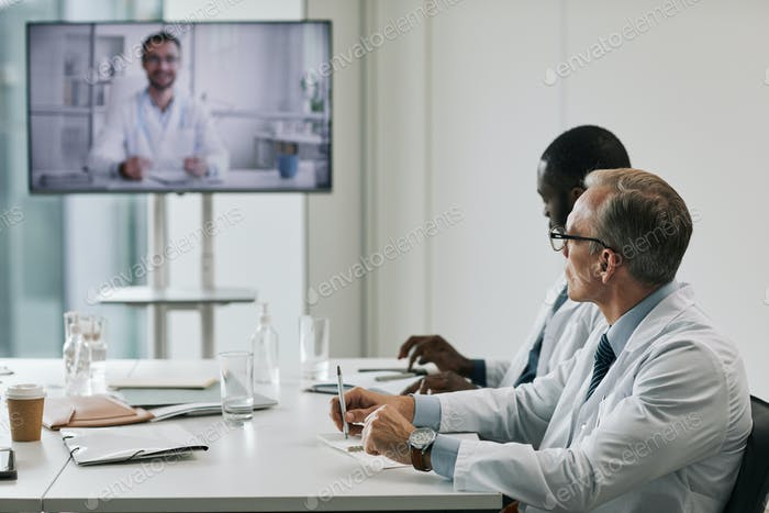Doctors in Video Conference