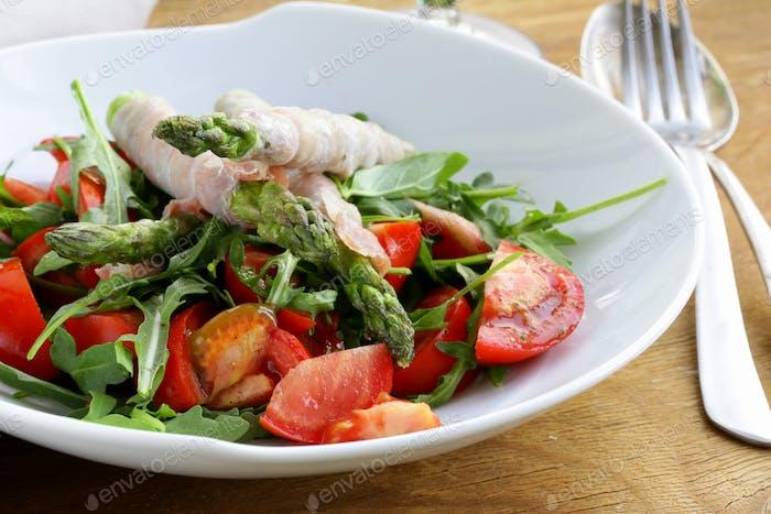 Arugula Salad with Tomatoes