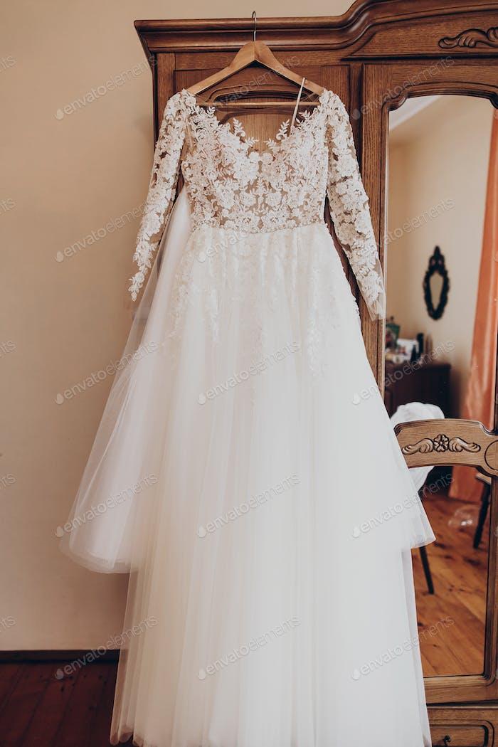 Luxus Hochzeitskleid