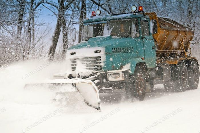 Schneepflug tun