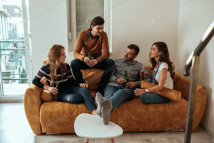 Chill time with crew