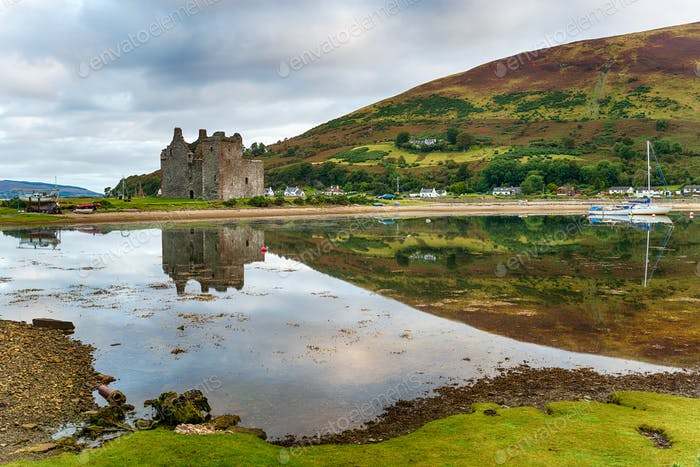 Early morning at Lochranza on the Isle of Arran