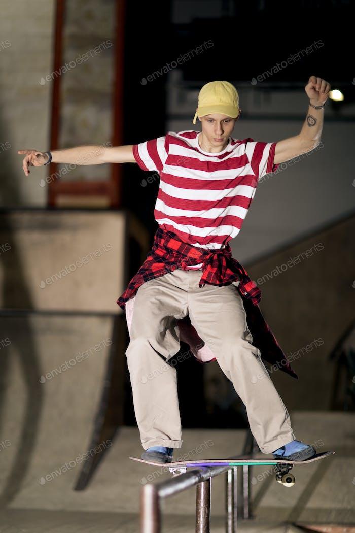 Skater on Rail