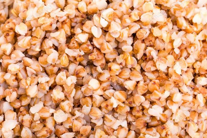 Closeup of delicious buckwheat.