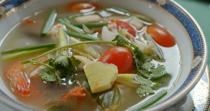 Thai cuisine, Tom Yum soup