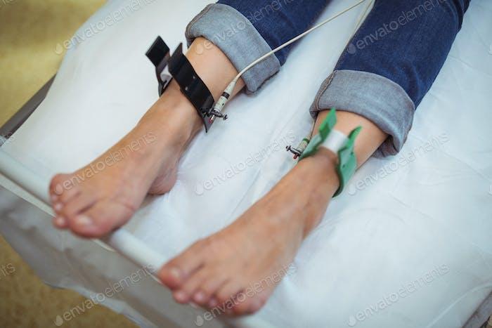 Patienten, die sich einer Behandlung unterziehen