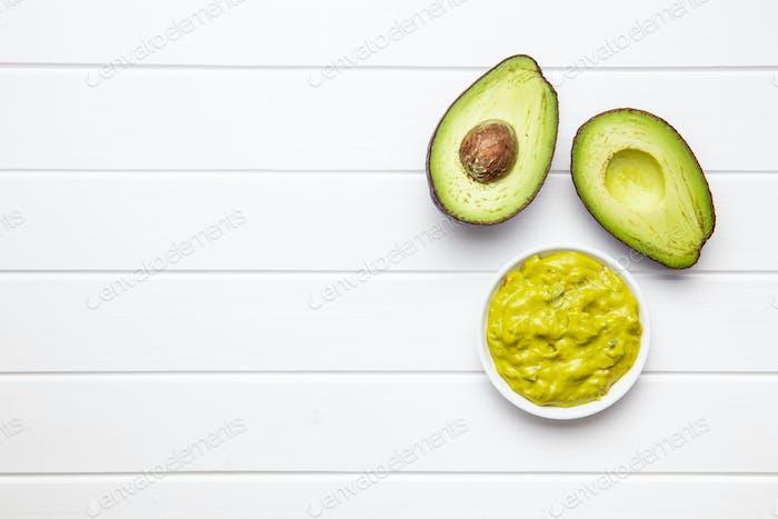 Avocado-Dip. Guacamole-Sauce